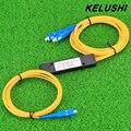 KELUSHI 1x2 PLC двойной Окно Сплиттер Кассетный PLC Волоконно-оптический Разветвитель SC Интерфейс Волокна Ветвления Устройства Оптовая Цена