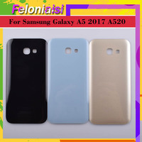case samsung galaxy 10Pcs/lot For Samsung Galaxy A5 2017 A520 A520F SM-A520F Housing Battery Door Rear Back Glass Cover Case Chassis Shell Replaceme (2)