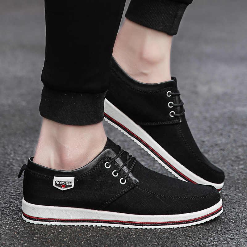 NORTHMARCH 2020 Neue Leinwand Schuhe Männer Hohe Qualität Casual Männer Schuhe Atmungsaktive Lace-Up Espadrilles Männer Schuhe Zapatos Hombre