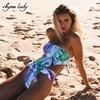 Rhyme Lady 2017 Bikini Set Female Strapless Bathing Suit Print Floral Brazilian Swimwear Backless Push Up