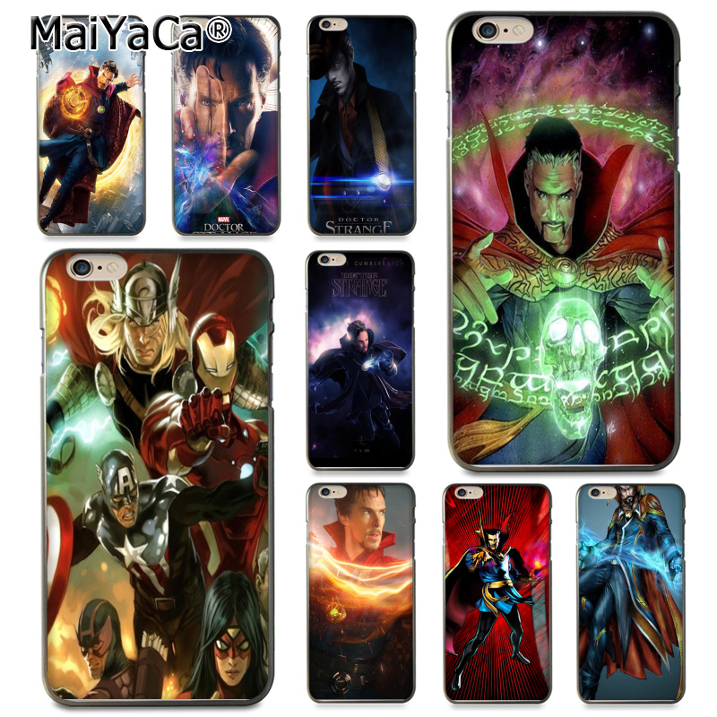 Expressive Maiyaca Marvel Doctor Strange Hot Selling Fashion Design Cell Case For Apple Iphone 8 7 6 6s Plus X 5 5s Se 5c Cover Skillful Manufacture Phone Bags & Cases