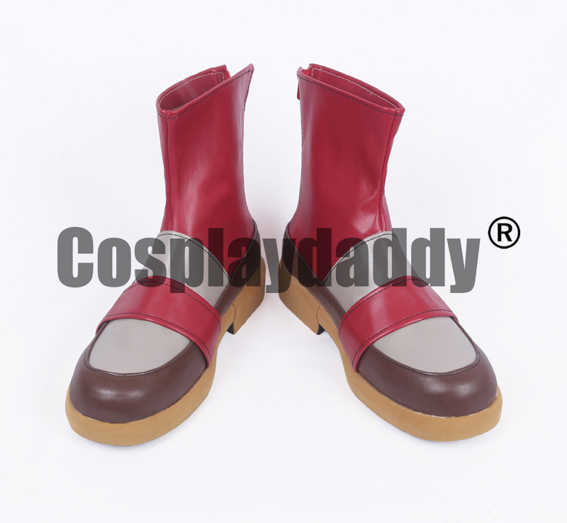 Fire Emblem Roy Game Super Smash Bros. Version Cosplay Shoes Boots S008 image