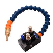 آلة الحفر رذاذ التبريد ضباب المبرد نظام تزييت وحدة ل 8 مللي متر أنابيب هواء آلة خرط تعمل بالتحكم الرقمي بواسطة الحاسوب طحن الحفر