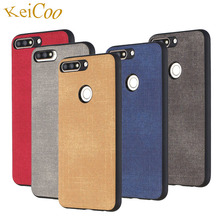 Jeans Texture Series Soft TPU Cases For HUAWEI Y5 Y5Prime 2018 Y6 Y6Prime Y7 Y7Pro Y7Prime Case Ultra-thin Covers Art
