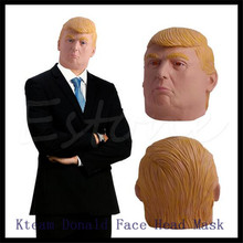 For Donald Trump Costume Mask Presidential Republican Primary Rallies Halloween Cosplay Mask Party Funny Human Face