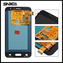 Ограниченное предложение Sinbeda свет отрегулировать для samsung Galaxy J1 2016 J120 J120F J120H J120M 4,5 дюймов OLED ЖК-дисплей Экран дисплея сенсорный экран
