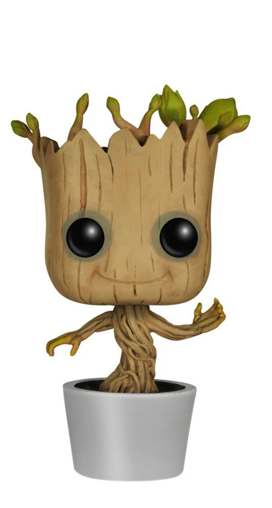 Official Funko pop Movies: Guardians of the Galaxy 2 - Toddler Groot Vinyl Action Figure Collectible Model Toy with Original Box new arrivals hote cute guardians of the galaxy 2 groot statue figure collectible model toy 9 types children gifts