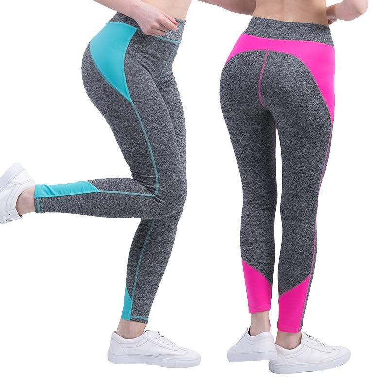 Glamcity Для женщин Леггинсы для женщин Фитнес Костюмы модные леггинсы Для женщин S Activewear желтый цвет: черный, Синий Розовый Красный Леггинсы