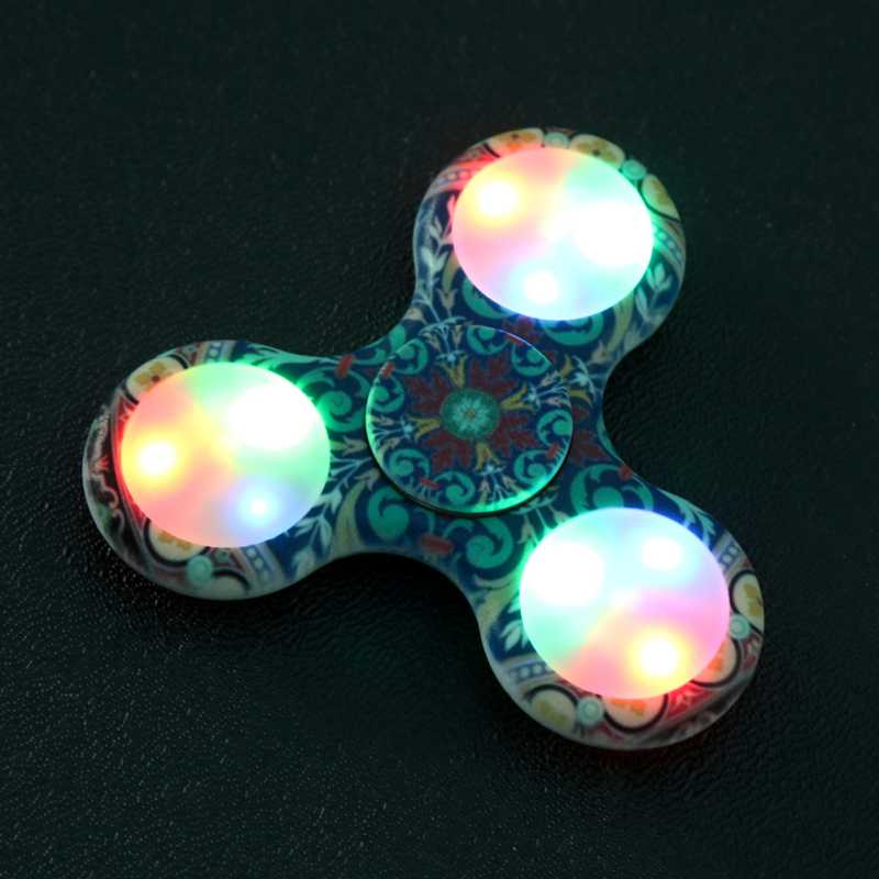 New Camouflage Pattern Gyro Toys Gift Finger Spinner Fidget Plastic EDC Hand For Autism/ADHD Anxiety Stress Relief Focus new luminous metal fidget spinner triangle gyro edc hand finger spinner for autism adhd anxiety stress relief focus toys gift