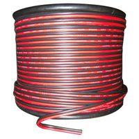 22 Калибр 15 м красный черный зипкорд AWG кабель питания наземный многожильный медный автомобиль