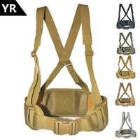 Ceinture militaire tactique Molle armée spéciale 600D Nylon ceinture militaire pratique ceinture de combat EAS en forme de H réglable doux rembourré