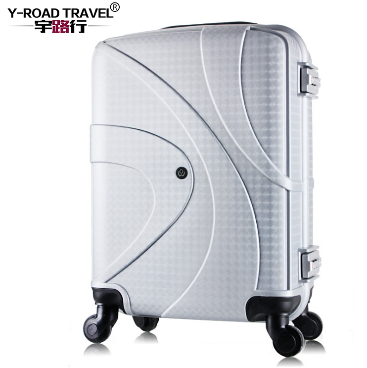 7ee3b474c0b2 US $100.18 17% OFF|19 inch Carry on Luggage Spinner PC Portable Luggage  Hardside Trolley Rolling Luggage Kids Small Cabin Bag Girl Travel  Suitcase-in ...