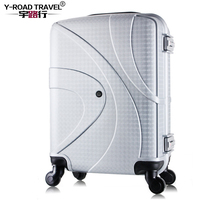 19 inch Carry on Luggage Spinner PC Portable Luggage Hardside Trolley Rolling Luggage Kids Small Cabin Bag Girl Travel Suitcase