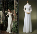 Simple трапециевидный длинный рукав знаменитости платье аравия Muslism тарифы минимальный уровень длина вышивка вечернее платье HYD570