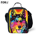 Griffiti Portable Insulated Lunch Bag Pet Dog Cat Thermal Food Picnic Lunch Bags for Women kids Men Cooler Lunch Box Bag Tote