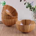 Natural wooden bowl Chinese food containers bamboo tableware kitchen mixing bowl soup noodle rice dinner dishes for children