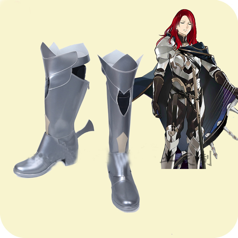 FGO Fate Grand Order Tristan Cosplay Shoes Boots Men's Halloween Carnival Party Costume Accessories