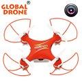 Gw009c global drone quadcopter 6-axis drone aircraft dron camera drohne mini câmera rc helicoptero rc dron con camara vs cx10