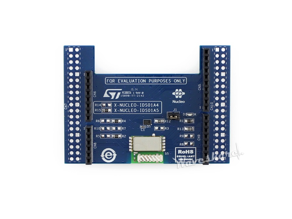 все цены на Modules STM32 X-NUCLEO-IDS01A5 Nucleo Board Sub-1 GHz RF expansion board based on the SPSGRF-915 module онлайн