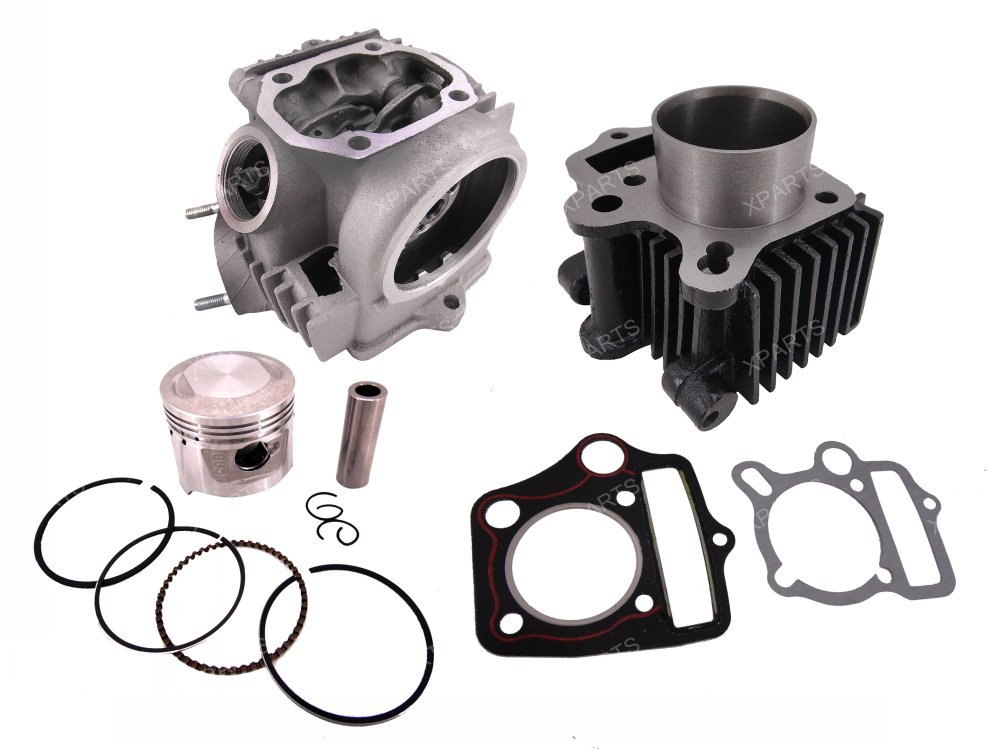 50CC Rebuild 70CC Cylinder Head Piston Gasket Kit for Honda XR50 CRF50 70 High Quality Metal For Motorbike