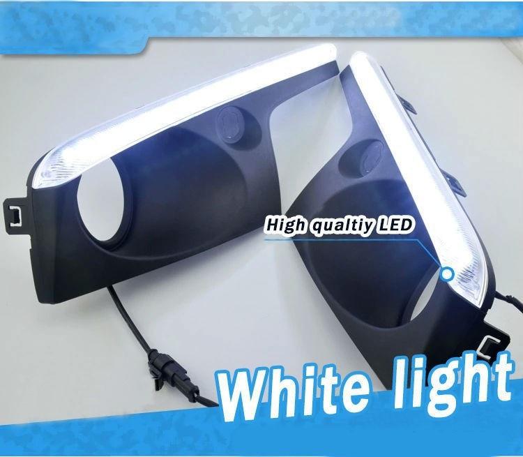Бесплатная доставка дневного света светодиодные противотуманные лампы ДРЛ с диммером прилегание на 2012-2013 Джили Эмгранд х7 GX7