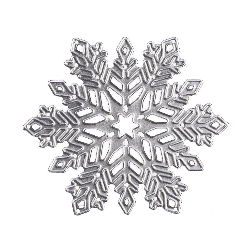 Snowflake <font><b>Cutting</b></font> <font><b>Dies</b></font> <font><b>Christmas</b></font> Metal <font><b>Cutting</b></font> <font><b>Dies</b></font> Stencils <font><b>Die</b></font> Cut for DIY Scrapbooking <font><b>Christmas</b></font> Album Paper Card Embossing image