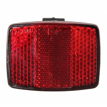 New  Road Bike Automatic Reflectors Cycling Warning Light Bicycle Accessories Front Rear Reflective Lens #928