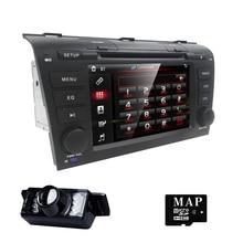 """7 """"Écran tactile Voiture DVD Stéréo Lecteur pour MAZDA3 MAZDA 3 2004 2005 2006 2007 2008 2009 Bluetooth Radio 3G GPS Système de Navigation"""