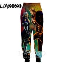 цена на 3d Print Men Women full length Sweatpants winter Pants anime casual Nanatsu No Taizai The Seven Deadly Sins jogger trousers E724