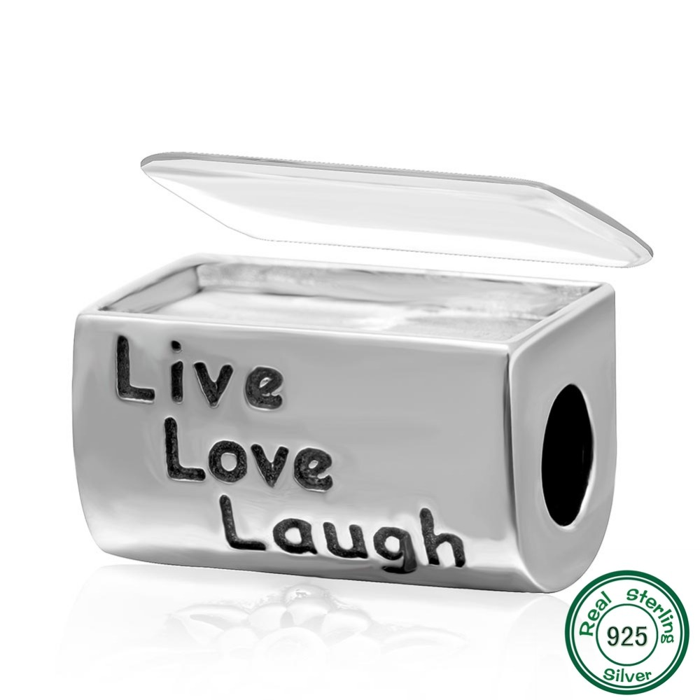 Online buy wholesale live love laugh photos from china live love new diy photo flower charms 925 sterling silver letter live love laugh beads fits buycottarizona