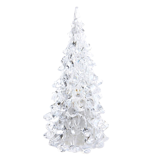 Acrylic Led Colors Changing Christmas Tree Night Light Lamp Xmas Party Decor Sturdy Construction Lights & Lighting