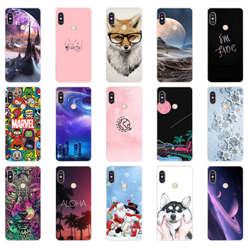 U silicone case For 5.99 inch Xiaomi Redmi Note 5 global pro Case Cover redmi note 5 Snapdragon 636 version note5 pro case image