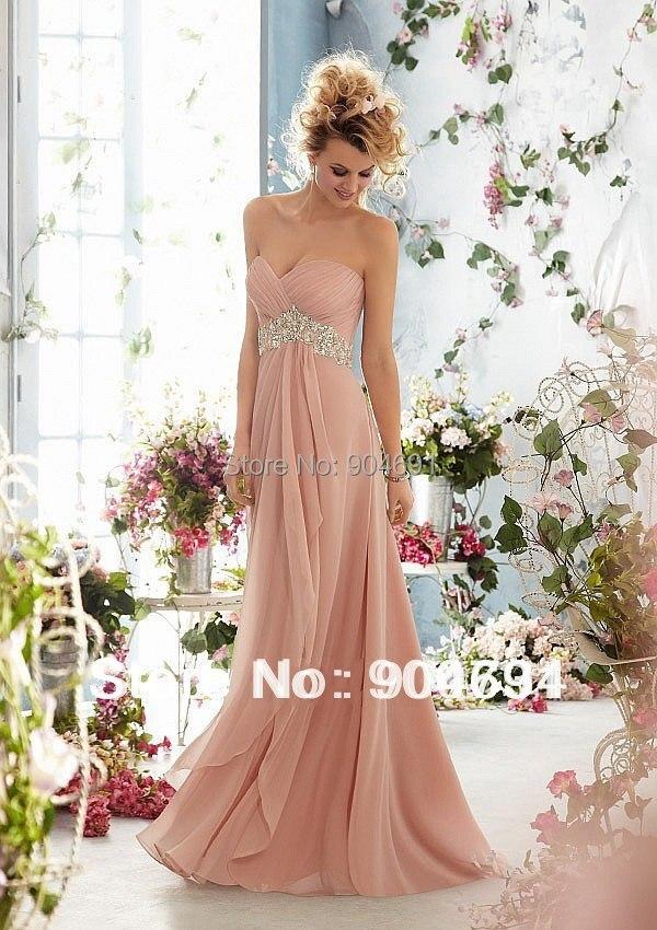 Aliexpress.com : Buy Chiffon Formal Dresses Rhinestones Sequins ...