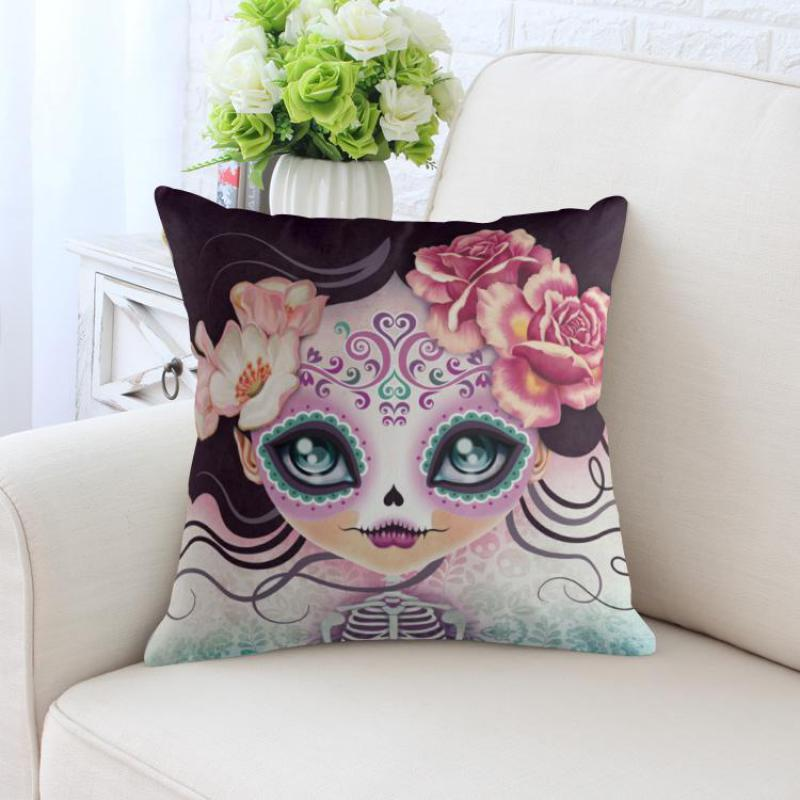 Alice In Wonderland Pillow Decor Butterfly Girl Fantasy Princess Rabbit Soft Plush Cushion For Party Decoration Birthday Gift
