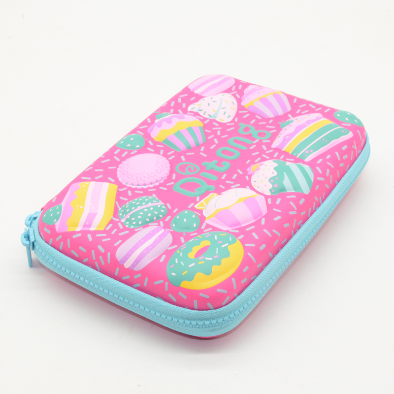 Cake Pencil Case EVA Estojo Escolar Kalem Kutusu Etui Pencilcase Estuche Estuches Cases Kawaii Lapices Astuccio Scuola For Girl