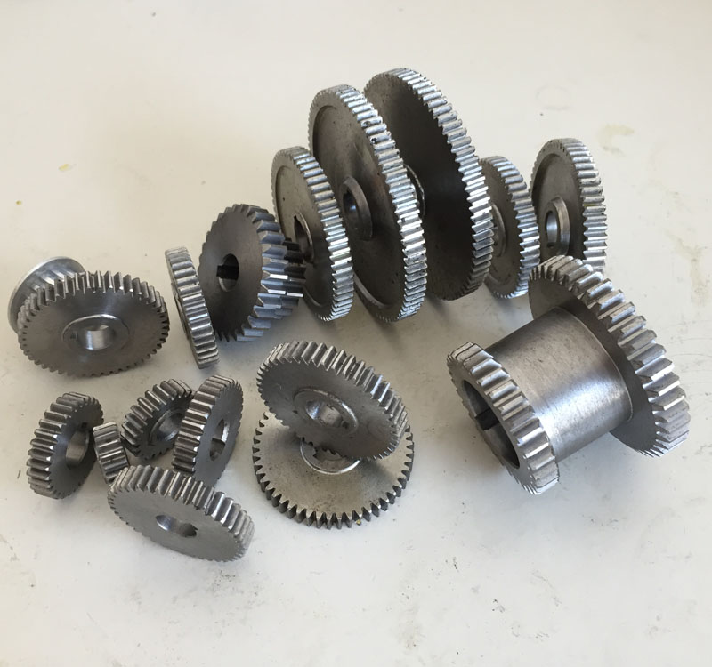 все цены на Free shipping 18pcs/set mini lathe gears , Metal Cutting Machine gears , lathe gears