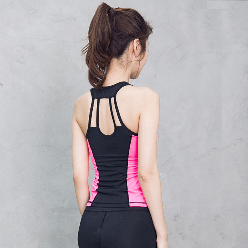 Yoga Vest Fitness font b Top b font Workout Shirts font b Women b font Bodybuilding