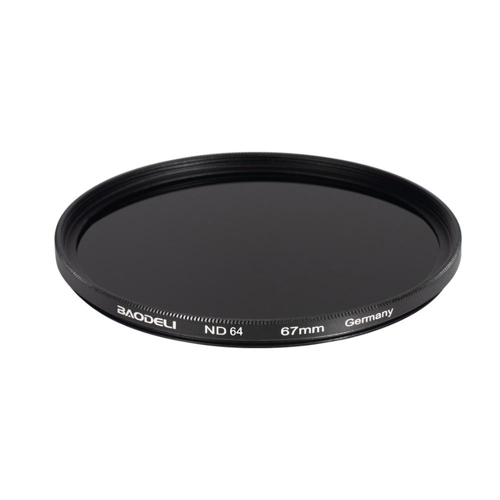 72 BAODELI Neutral Density Filtro Nd1000 64 8 Concept 49mm 52mm 55 58 62 67mm 72 77mm 82mm For Canon Nikon Sony Camera Lens Filter (5)