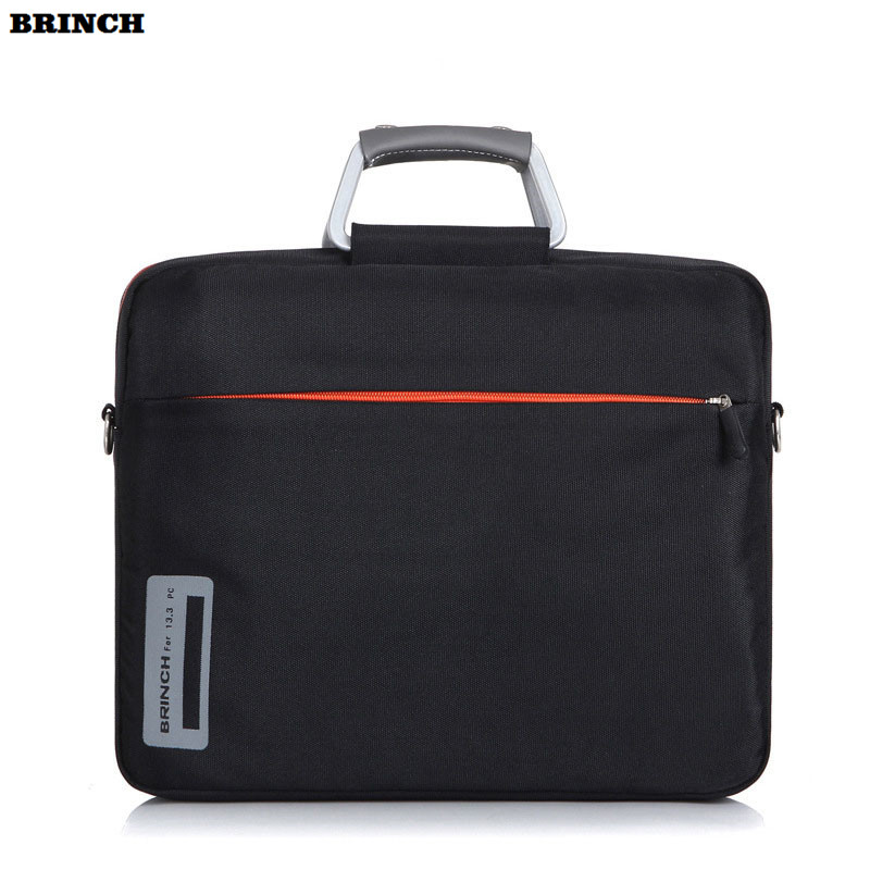 BRINCH 13 14 inch Nylon Portable Laptop Computer Bag For Men and Women Shoulder Bags Notebook PC Briefcase Laptop Messenger