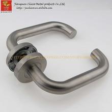 stainless steel 304 lever door handle,interior handles,tube entry handle