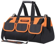 CAMMITEVER Multifunctional Tool Bag for Drill Wrench Handbag Large Thicken Repair Tools 12.5/15/17/19inch Toolkit Pockets