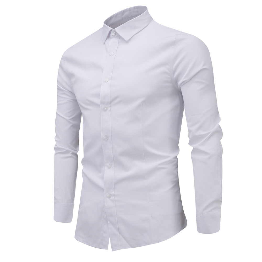 Alion Mens Shiny Silver Rose Design Slim Fit Long Sleeve Party Button Up Dress Shirt