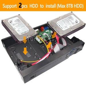 Image 5 - H.265 +/H.264 8ch * 4 K/32ch * 5.0MP/32ch * 1080 P NVR Netwerk Vidoe recorder 960 P/720 P IP Camera ONVIF CMS XMEYE 2 * SATA met front USB