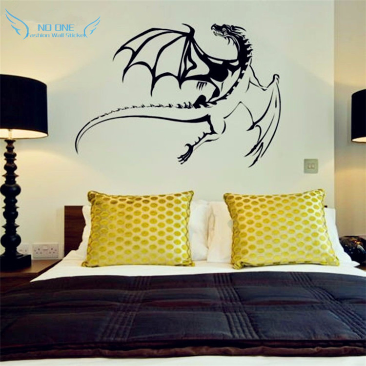 Pterosaurus Wall Sticker Vinyl, Decals removable, Stiker dinding - Dekorasi rumah