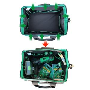 Image 2 - 1 Chiếc LAOA 600D Túi Đựng Dụng Cụ Điện Công Suất Lớn Bộ Công Cụ Sửa Chữa Không Thấm Nước Túi Lưu Trữ Cho Thợ Điện Dụng Cụ