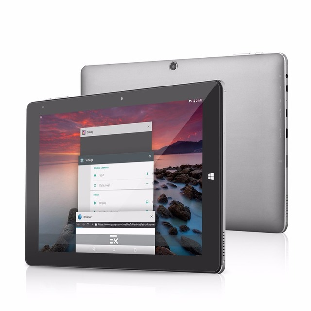 Chuwi HiBook 10.1 » Dual OS Windows 10 & Android 5.1 Intel Atom X5 Cherry Trail Z8300 64bit 4G+64G 2 in 1 Ultrabook Tablet PCs