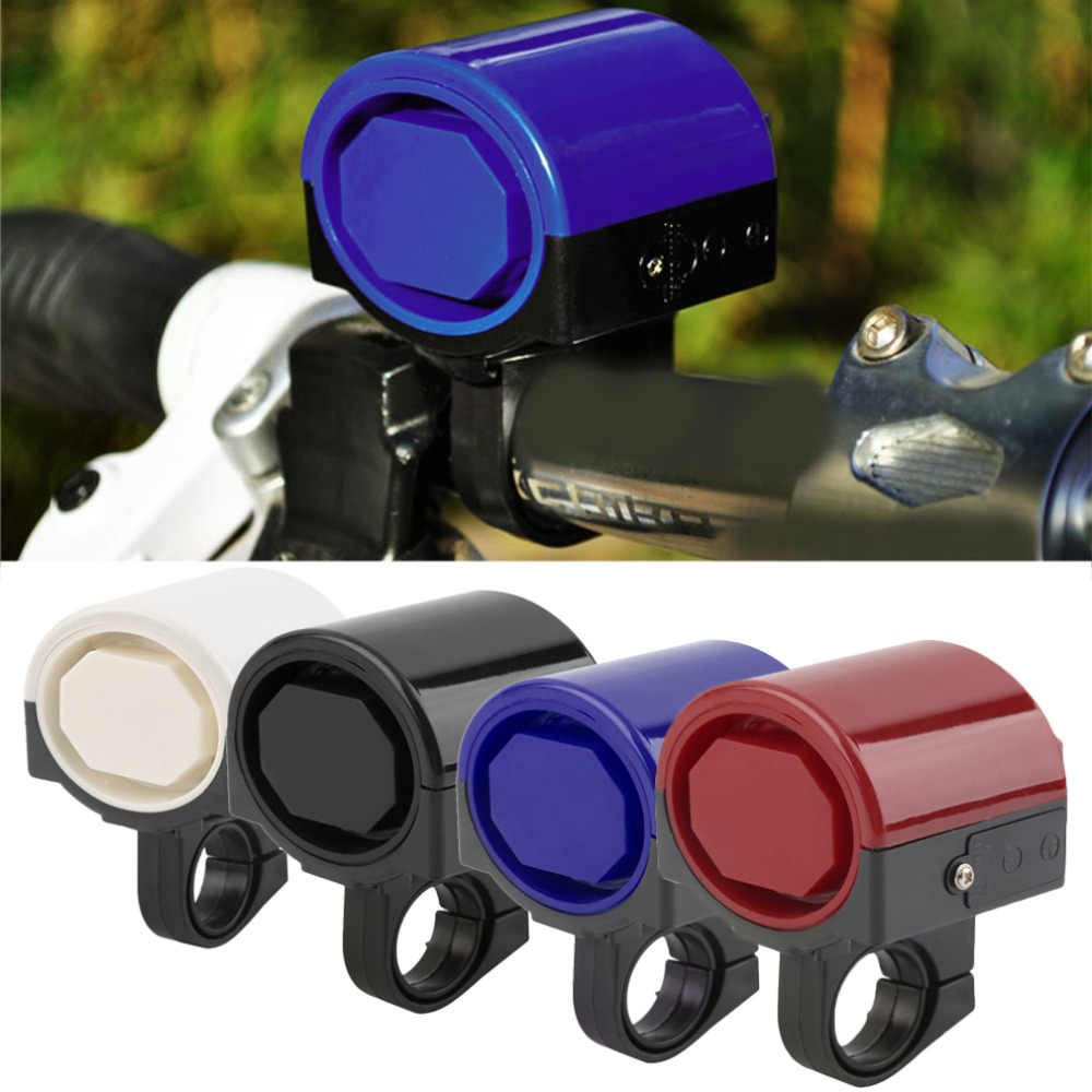 Newest MTB Road Bicycle Bike Electronic Bell Loud Horn Cycling Hooter Siren Holder