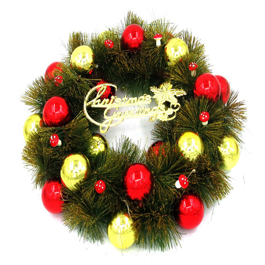 maravillosa puerta corona de navidad adorno de pared guirnalda decoracin roja compra