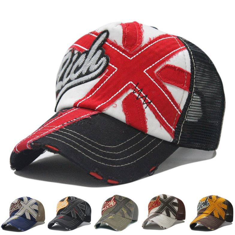 2015 LGFC1502 men and women uk flag breathable mesh baseball cap long brim  Sun hats sun protection mesh TRUCK Cap-in Baseball Caps from Apparel  Accessories ... 0fbe23d1418