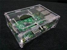 Raspberry pi 3 + shell raspberry pi 2B + shell new micro-computer case holder